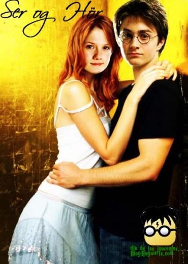 Harry y Ginny tendrían un hijo en la vida real