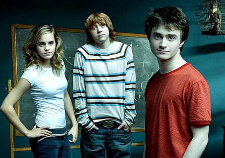 Daniel, Emma y Rupert