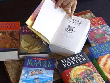 Libros Autografíados por JK