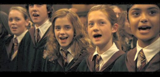 Caliz Fuego Ginny Hermione