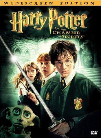 DVD de la película Harry Potter y la Cámara Secreta