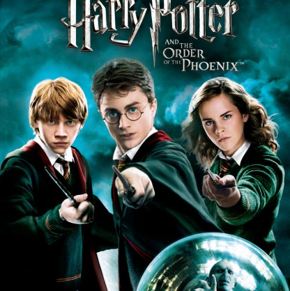 DVD Harry Potter y la Orden del Fenix