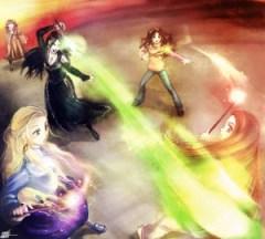 Batalla de Hogwarts por shingotm