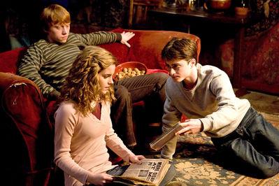 BlogHogwarts - Segunda Imagen Promocional de 'Harry Potter y el Misterio del Príncipe'