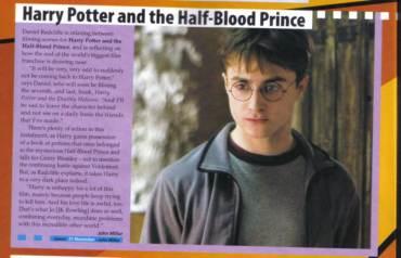 Daniel Radcliffe Habla de Filmación de HP6 y del Final de la Saga de Harry Potter