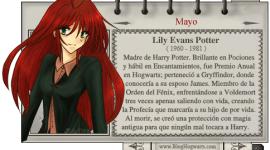 Lily Evans Potter – Mago del Mes Mayo