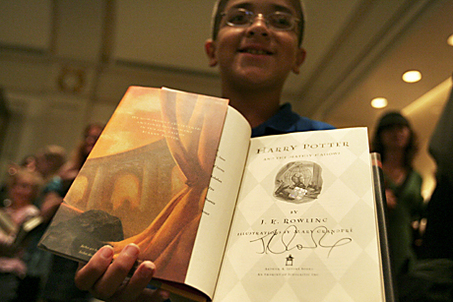 Reliquias de la Muerte autografiado