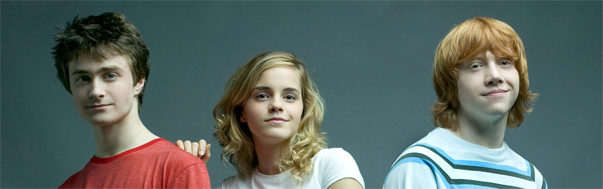 BlogHogwarts - Daniel Radcliffe, Emma Watson, y Rupert Grint