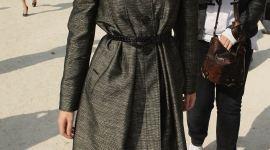 Emma Watson llega al Desfile Primavera/Verano 'Christian Dior PFW'