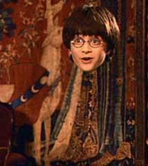 Capa de Invisibilidad de Harry Potter