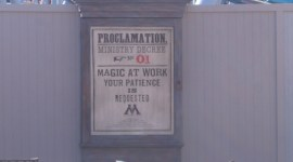 Nuevas Imágenes en Alta Resolución de la Construcción del 'Parque de Harry Potter'