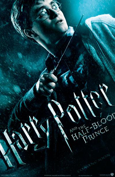Primer Teaser Poster de Harry Potter y el Misterio del Principe