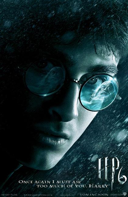 Teaser Poster de Harry Potter y el Misterio del Principe