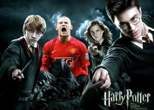 Wayne Rooney Fanatico de Harry Potter