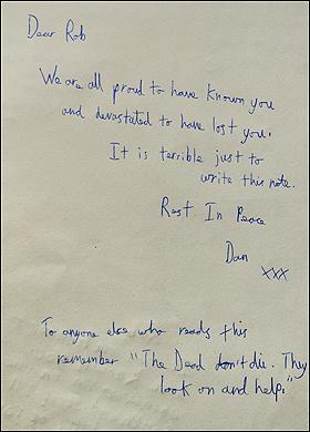 Revelada Nota de Despedida de Robert Knox, Escrita por Daniel Radcliffe