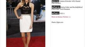 'Teen Vogue Best Dressed': Emma Watson entre Las Mejores Vestidas de Julio