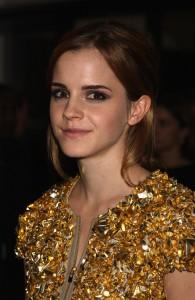 Emma Watson en Burberry 2009