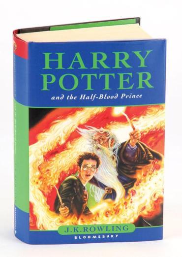 Libros de Harry Potter firmados por JK Rowling y el Cast en subasta