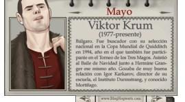 Viktor Krum – Mago del Mes de Mayo
