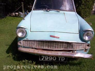 Ford Anglia de 'La Cámara Secreta', Exhibido Actualmente en las Costas Australianas