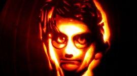 Tendencia: Calabazas de Halloween Grabadas con Diseños de 'Harry Potter'
