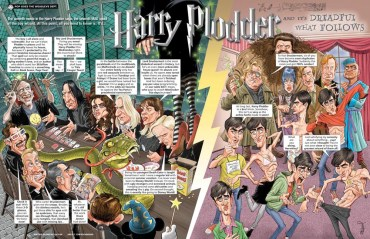 Nueva Parodia de 'Harry Potter y las Reliquias de la Muerte' en la Revista 'MAD'
