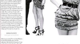 Nuevas Imágenes de Emma Watson y la Diseñadora Vivienne Westwood para la Revista 'Elle UK'