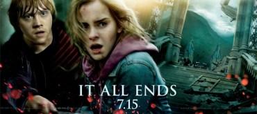Otro Banner de 'Harry Potter y las Reliquias de la Muerte, Parte II': Ron y Hermione