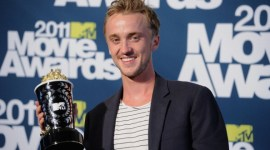 Imágenes de Emma Watson y Tom Felton durante la Ceremonia de los 'MTV Movie Awards'