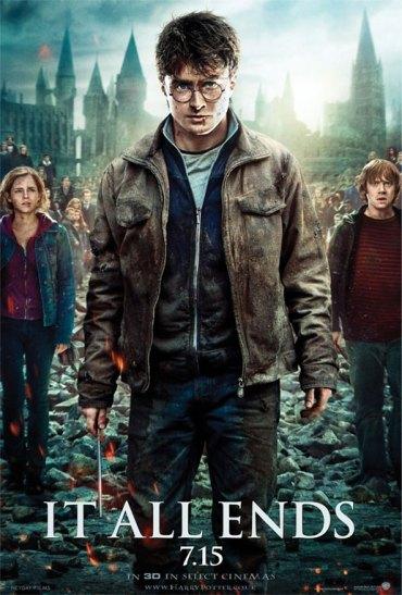 Final del maratón de película: 'Harry Potter y las Reliquias de la Muerte Parte 2'