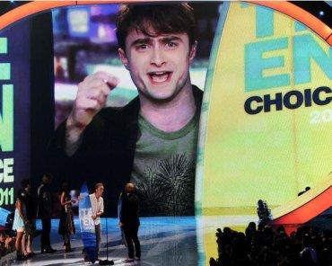 Tributo y Siete Premios a 'Las Reliquias de la Muerte' en los 'Teen Choice Awards 2011'!