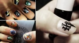 Pintura de Uñas al estilo Harry Potter