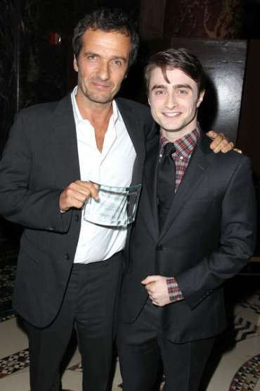 Daniel Radcliffe y David Heyman Reciben Galardón para 'Harry Potter' en los 'NBR Awards'