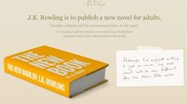 Nueva Novela de J.K. Rowling se Publicará Este Año