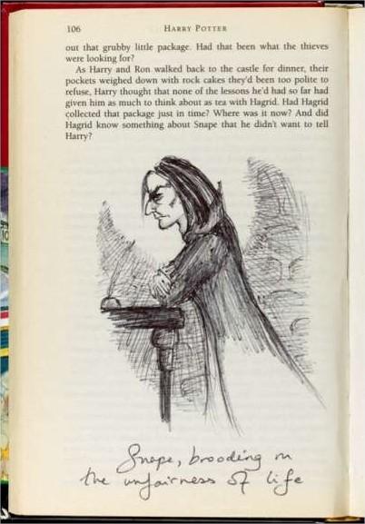 BlogHogwarts Harry Potter JKR Com Snape 2