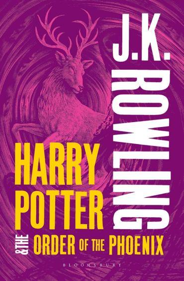 Bloomsbury Revela la Nueva Portada de 'Harry Potter y la Orden del Fénix'