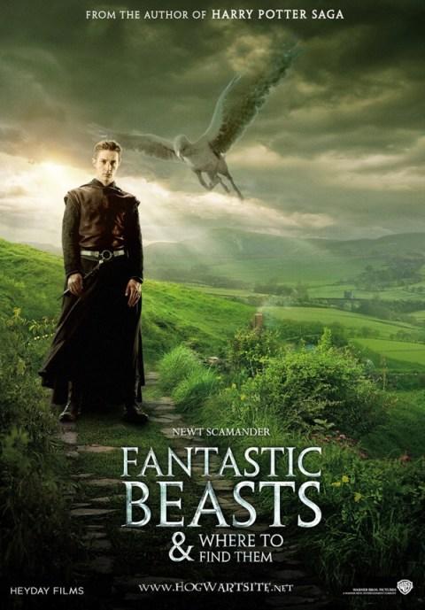 Harry Potter BlogHogwarts Animales Fantasticos y donde Encontrarlos Fanart 01