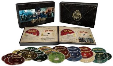 A la Venta Nueva Colección de Películas de Harry Potter con 31 Discos