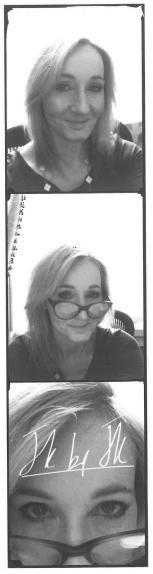 Imagen de la Semana: 'Selfies' de la Autora JK Rowling