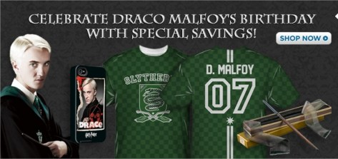 Harry Potter BlogHogwarts Draco Malfoy Tienda Warner Bros
