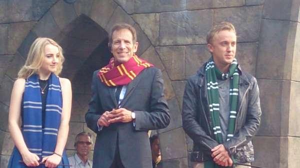 Harry Potter BlogHogwarts Inauguracion Parque Japon Tom Felton Evanna Lynch (4)