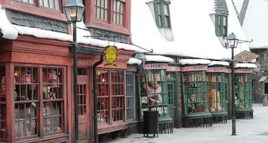 Harry Potter BlogHogwarts Inauguracion Parque Japon Tom Felton Evanna Lynch (9)