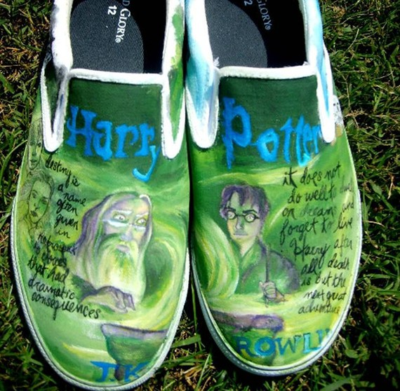 Harry Potter BlogHogwarts Zapatos de Harry Potter (11)