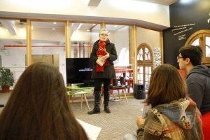 Actividad sobre Harry Potter en Campus Oriente Chile por Andrea Casals