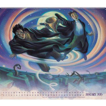 Imágenes del Nuevo Calendario de Harry Potter 2015