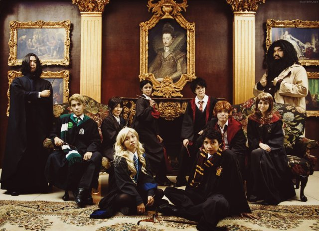 Harry Potter BlogHogwarts Cosplay Disfraz Halloween (19)