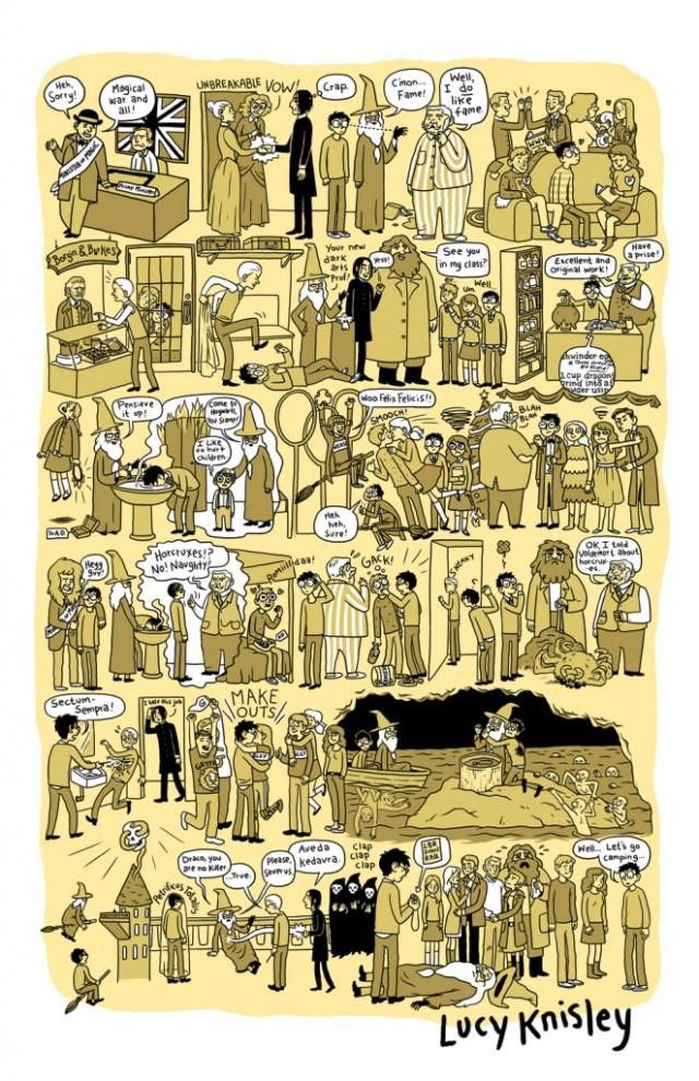 Harry Potter BlogHogwarts Tira Comica (6)