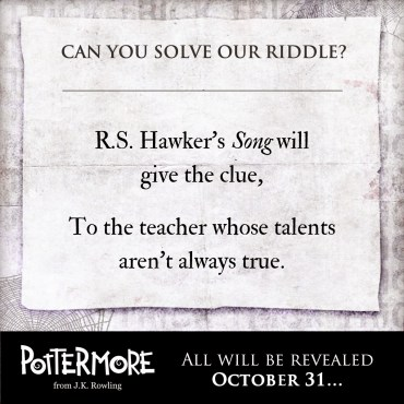 """Truco"" de Pottermore: La Misteriosa Identidad de un Profesor de Hogwarts"