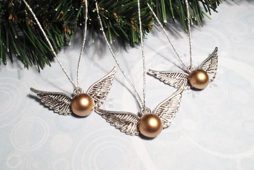 Harry Potter BlogHogwarts Navidad Arbol Ornamento (2)