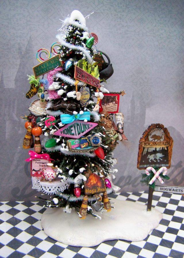 Harry Potter BlogHogwarts Navidad Arbol Ornamento (26)